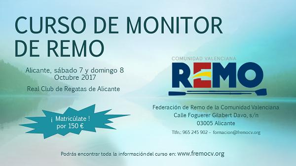Federaci n de remo de la comunidad valenciana web de la for Curso mantenimiento de piscinas comunidad valenciana
