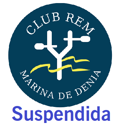 logo regata suspendida denia