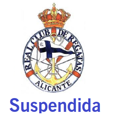 logotipo regata suspendida alicante