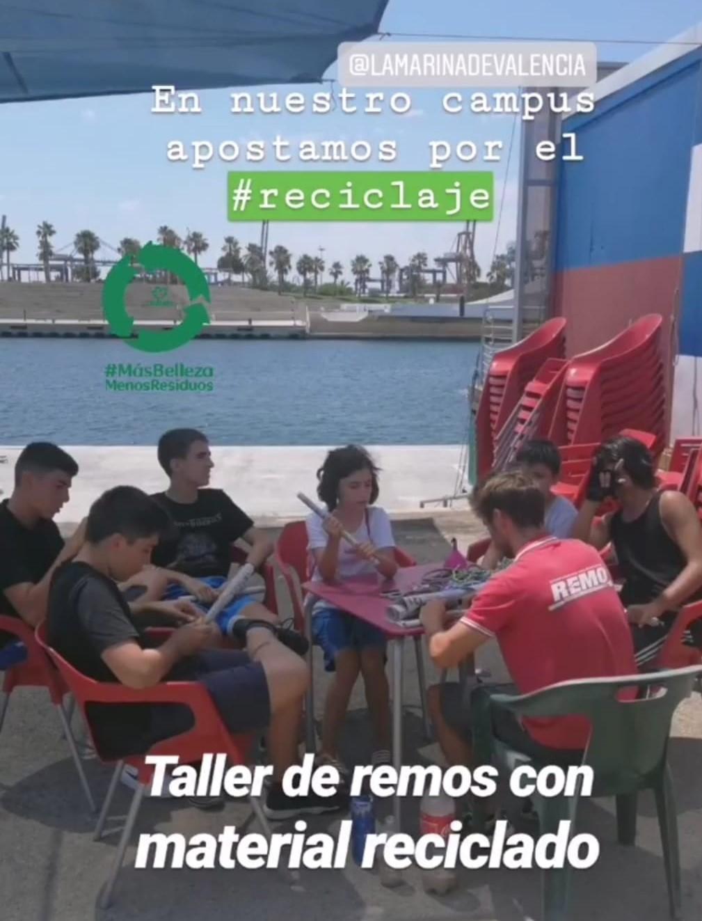 taller reciclaje campus valencia